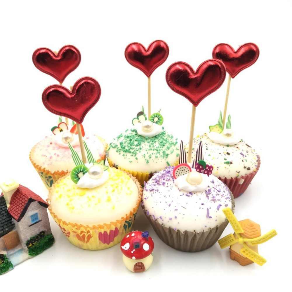 Fiesta Boda//Compromiso selecciones Mickey /& Minnie Mouse brillantes Cupcake Topper
