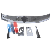 For Honda Civic 8th T R MUGEN Style Real Carbon Fiber Rear Trunk Spoiler Wing 2006 Car Styling