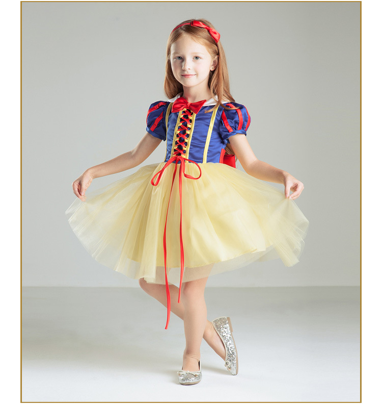 Detail feedback questions about elegant snow white flower girl dress detail feedback questions about elegant snow white flower girl dress princess halloween performance dresses for girl wedding party vestido baby baptism mightylinksfo