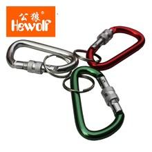 Hewolf случайный цвет открытый multi tool крючок, пряжка портативный алюминиевый замок карабина туризм отдых вешалка портативные дачный инструмент