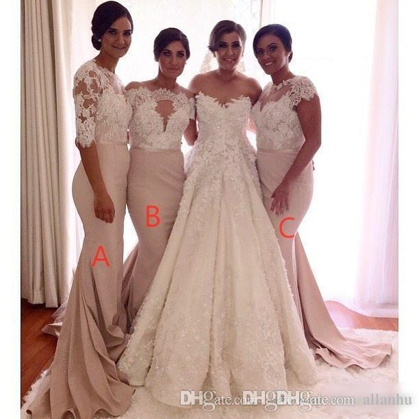 Popular Long Sleeve Bridesmaid Gowns-Buy Cheap Long Sleeve ...