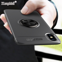 Magnetic Car Holder Finger Ring Case on For Coque iPhone Xs Max XR X 7 8 6 6S Plus Soft Case iPhone 11 Pro 2019 Phone Case Cover цена и фото