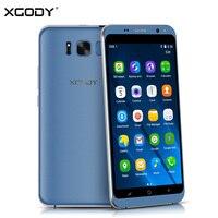Origional XGODY D19 Unlock 3G Smartphone 5 5 Inch Android 5 1 MTK MT6580 Quad Core