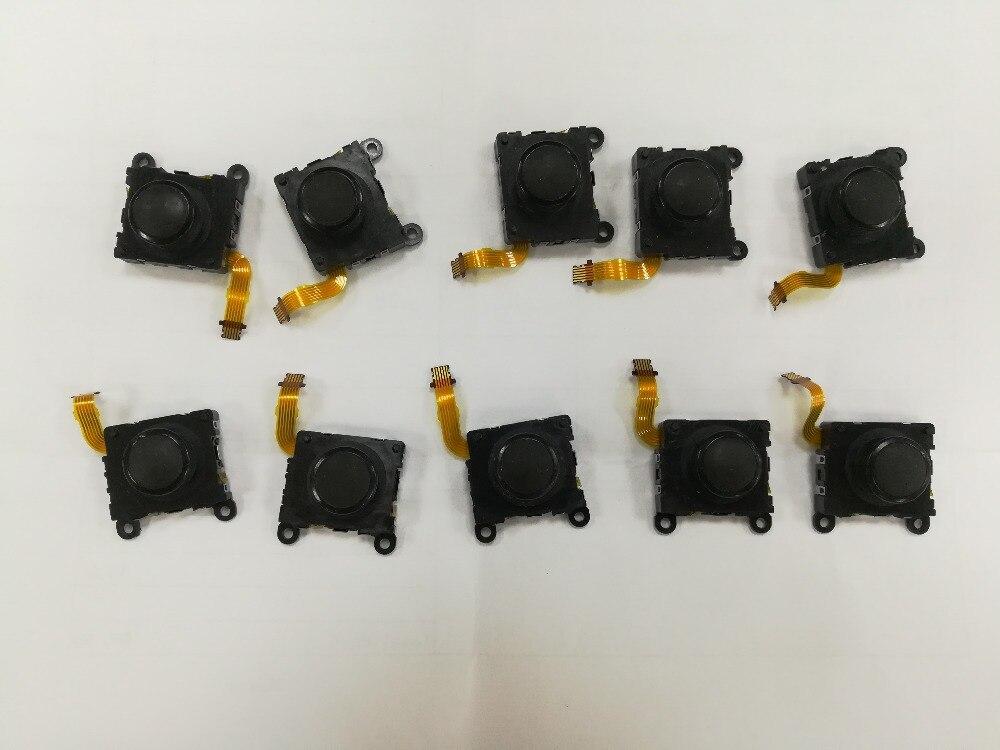Schnelle Lieferung 20 Teile/los Schwarz 3d Taste Analog-sticks Controller Thumbstick Ersatz Teile Für Psvita Ps Vita Psv 1000 Unterhaltungselektronik