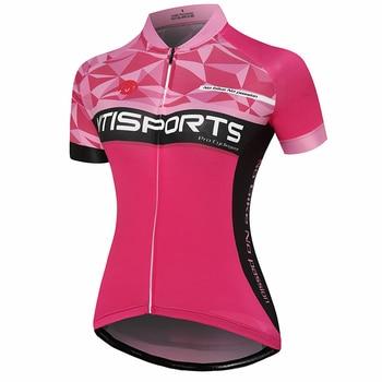 Camisetas de Ciclismo cortas de 5 colores para mujer, Ropa de Ciclismo, camiseta de bicicleta, camiseta de Ciclismo, camiseta de Ciclismo, camiseta de verano de Motocross
