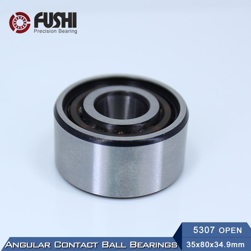 5307 OPEN Bearing 35 x 80 x 34.9 mm ( 1 PC ) Axial Double Row Angular Contact  5307 3307  3056307 Ball Bearings 5211 open bearing 55 x 100 x 33 3 mm 1 pc axial double row angular contact 5211 3211 3056211 ball bearings