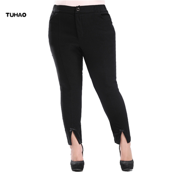 Plus Size 4XL 6XL 8XL 10XL pencil Pants for Women Office Lady Style Work Wear Trousers Female Clothing Business PANT YB08