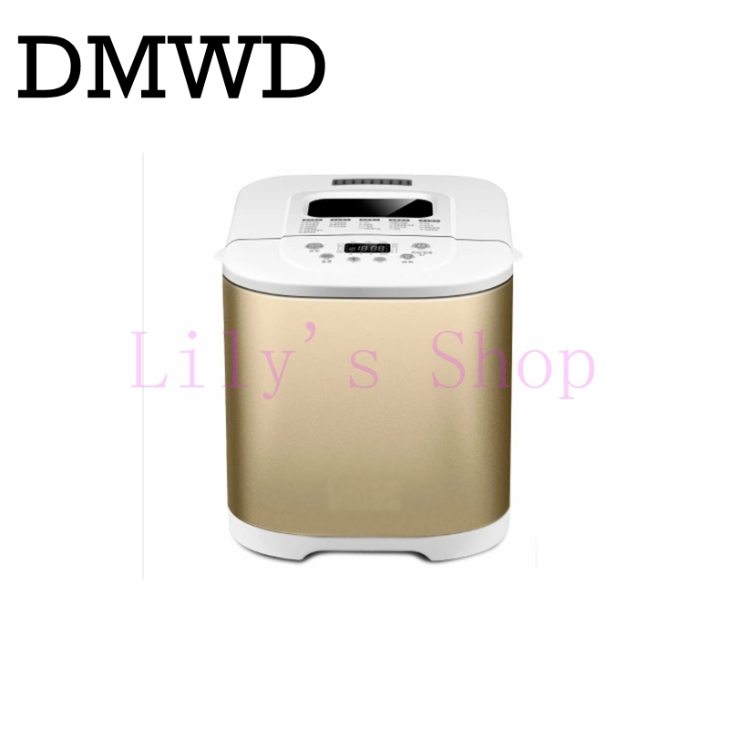 Toaster household automatic bread baking maker intelligent breadmaker multifunction cake dough mixing ice cream making machine