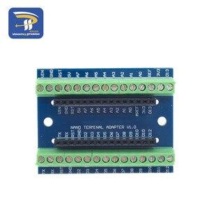 Image 5 - ナノ V3.0 3.0 コントローラ端子アダプタ拡張ボードナノ io シールドシンプルな延長プレート arduino の avr ATMEGA328P