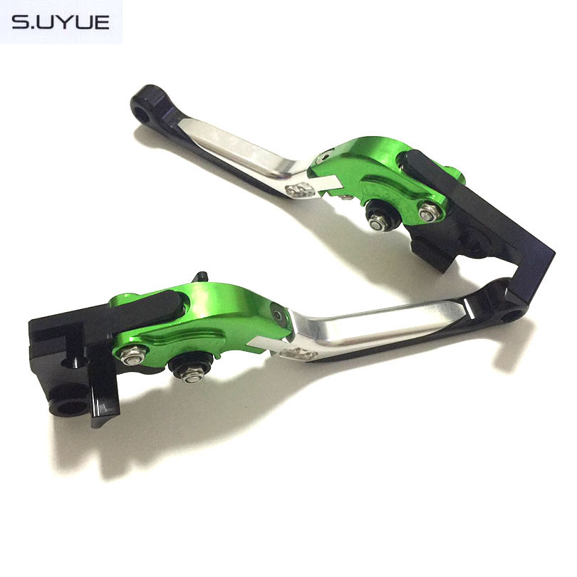 ФОТО S.UYUE CNC Adjustable Levers Motorcycle Foldable Extendable  Brake Clutch Levers for aprilia SHIVER / GT 2007-2015 DORSODURO 750
