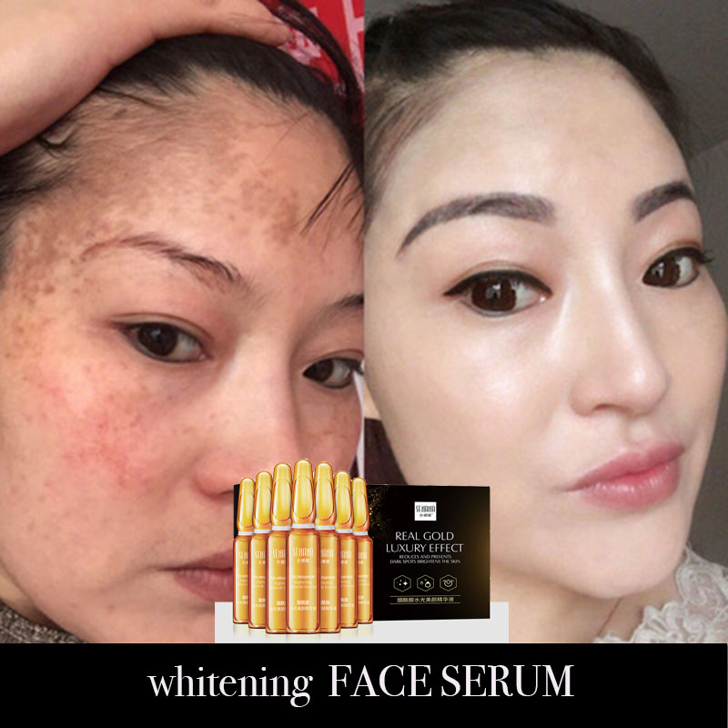 7pcs Beauty Nicotinamide Essence Moisturizing Face Serum Facial  Skin Care Female Products Whitening  Lifting Visage
