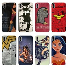 Wonder Woman Superman Justice League DC Comics Soft silicone Phone Case Cover Capa For iphone X10 XR 7 8Plus  6 5 5S SE