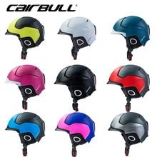 Шлем для катания на лыжах CAIRBULL для взрослых, одиночный и двойной борд, лыжный шлем для мужчин и женщин, открытый шлем, горный велосипедный защитный шлем