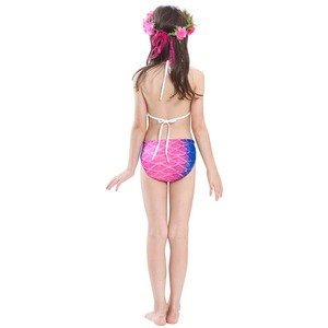 Image 5 - Children Mermaid Tails With Monofin Fin Cosplay Costume Girls Kids Swimsuit Ariel Swimmable for Swimming