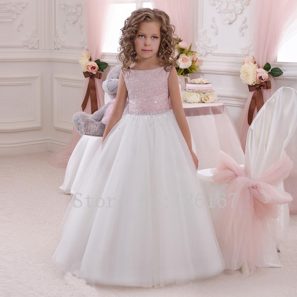 Pretty Girls Princess Style Flower Girls Dresses 2017 For Weddings