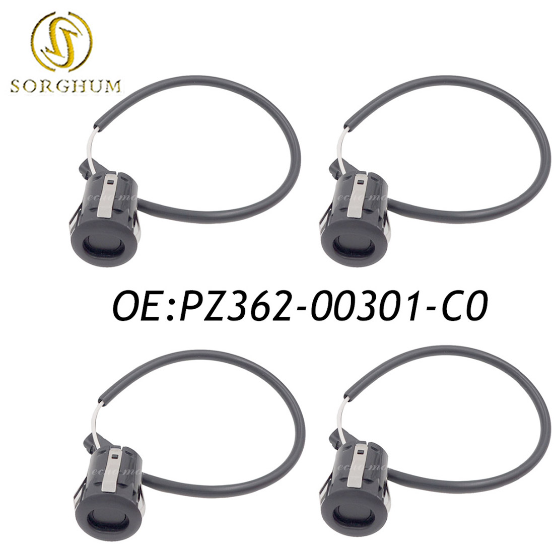 Nouveau Kit de capteur d'aide au stationnement/PDC pour pare-chocs 4 pièces pour Toyota PZ362-00301-C0 PZ362-00301