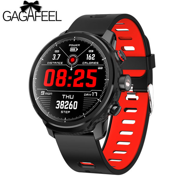 Gagafeel L5 Men Smart Watch IP68 Waterproof Fitness Heart Rate Monitor Wristband