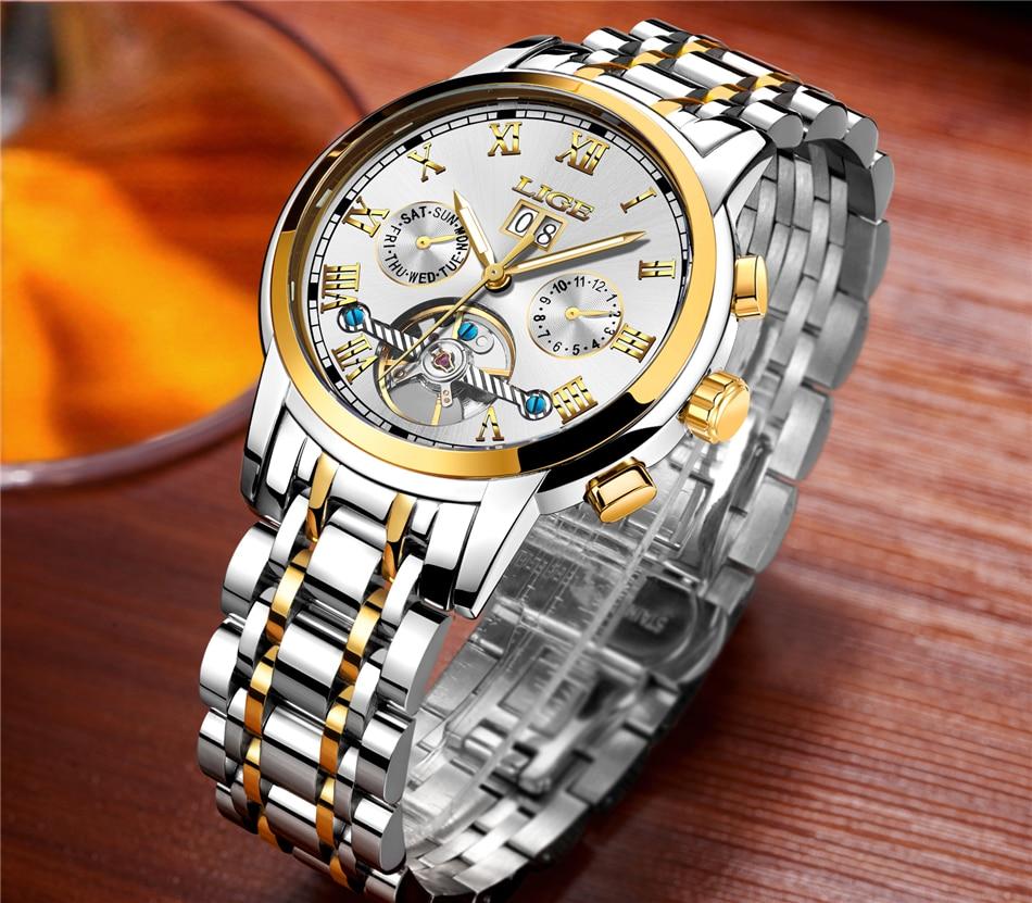 HTB1ASdBqeSSBuNjy0Flq6zBpVXaZ LIGE Mens Watches Top Luxury Brand Automatic Mechanical Watch Men Full Steel Business Waterproof Sport Watches Relogio Masculino