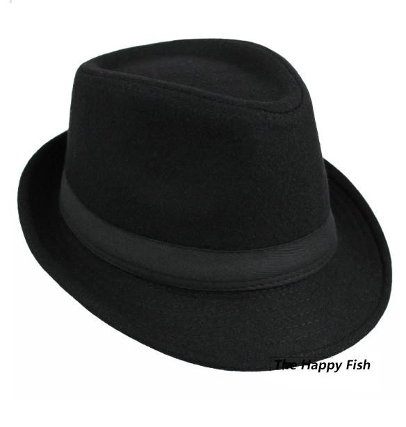 Original Unisex Structured Wool Fedora Hat Fedora hats for men fedora felt hat (4)