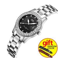 OT New Top Brand Watch Women Luxury Dress Full Steel Watches Fashion Casual Ladies Quartz Watch