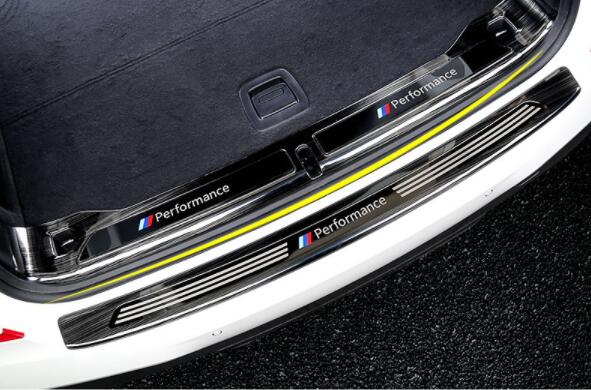 2018 For BMW New X3 Reserve Box Back Sheet 25i28i30i Modified Special Tail Box Threshold Decoration Bar