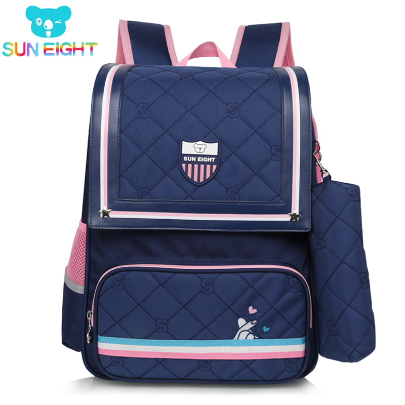 8cf1928b00 SUN EIGHT 2019 NEW Girl Bag School Backpack For Boy girl School bags Big  Capacity