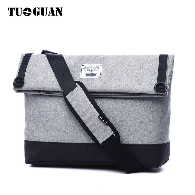 tuguan brand designer men waterproof messenger bags fashion korean style male handbags cross body shoulder bags for a4 size tote TUGUAN Fashion Waterproof Men Messenger Bag Business Travel Student School Bags Portable Shoulder Cross Body Bags Casual Totes