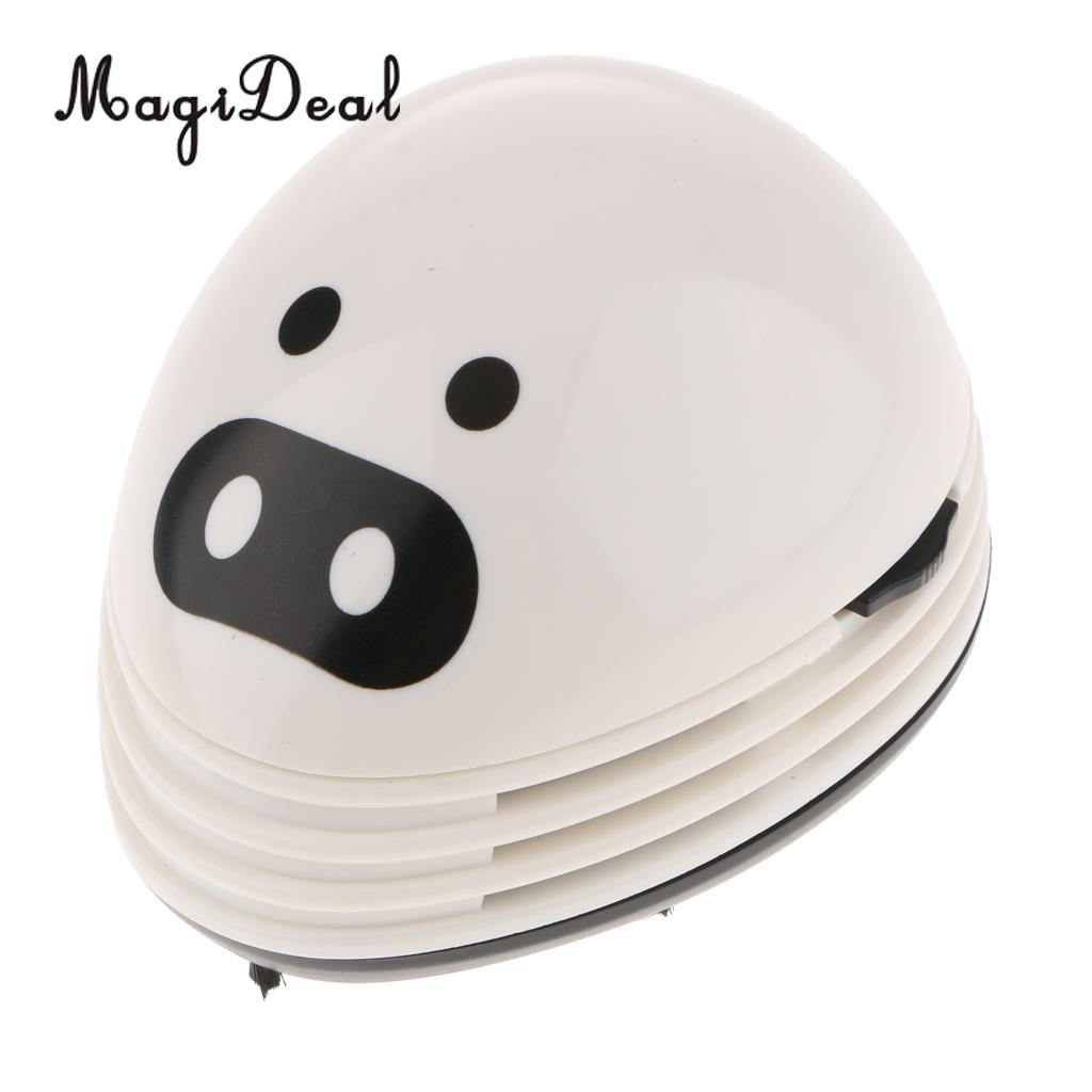 Objective Magideal Cute Mini Mushroom Desk Table Dust Keyboard Dust Vacuum Cleaner Sweeper Hand Held Sweeper For Home Office White Elegant And Graceful Home & Garden