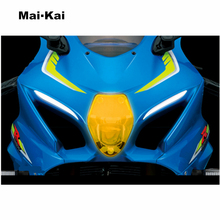 MAIKAI FOR Suzuki GSX-R1000 GSX R1000 GSX-R 1000 2017 motorcycle Headlight Protector Cover Shield Screen Lens