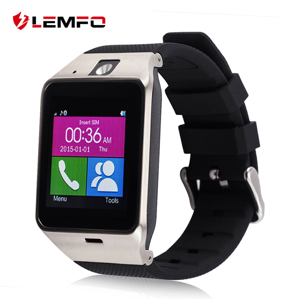 Popular Smartwatch GV18 Bluetooth Pedometer Wearable Device With SIM Card Mobile GSM Android Smart Watch Phone