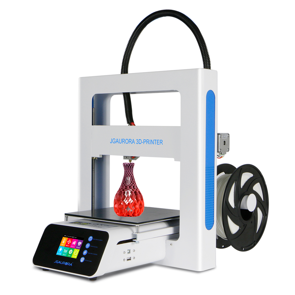 JGAURORA 3d printer kit diy A3S half hour assemble filament runs out detection Resume print anet a6 a8 reprap 3d printer full acrylic assembly diy 3d printer kit with auto sensor 1roll filament sd card filament holder