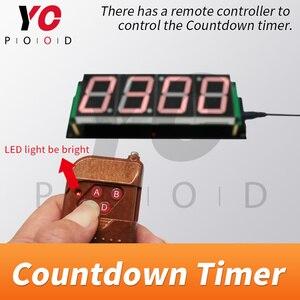 Image 5 - Drahtlose Countdown timer Room escape spiel requisiten vier digitale display benutzer können set zeit YOPOOD echt leben Takagism spiel lieferant