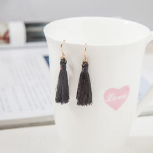 Bohemian Fringed Cheap Statement Tassel Earring High Quality Brand Fashion Women Drop Dangle Earring Jewelry aretes de mujer#35(China)
