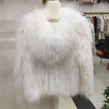 Hooded Natural Fur Coats Raccoon Fur Knitted Jackets Women Real Genuine Fur Outerwear Plus Size 4Xl 6XL