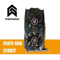 Graphics Card GTX 750TI 4096MB 4GB 128bit GDDR5 Placa De Video Carte Graphique Video Card For