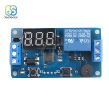 цена на DC 12V Timer Cycle Relay Digital LED Delay Timer Relay Board Control Switch Trigger Programmable Module for Car Auto with Buzzer