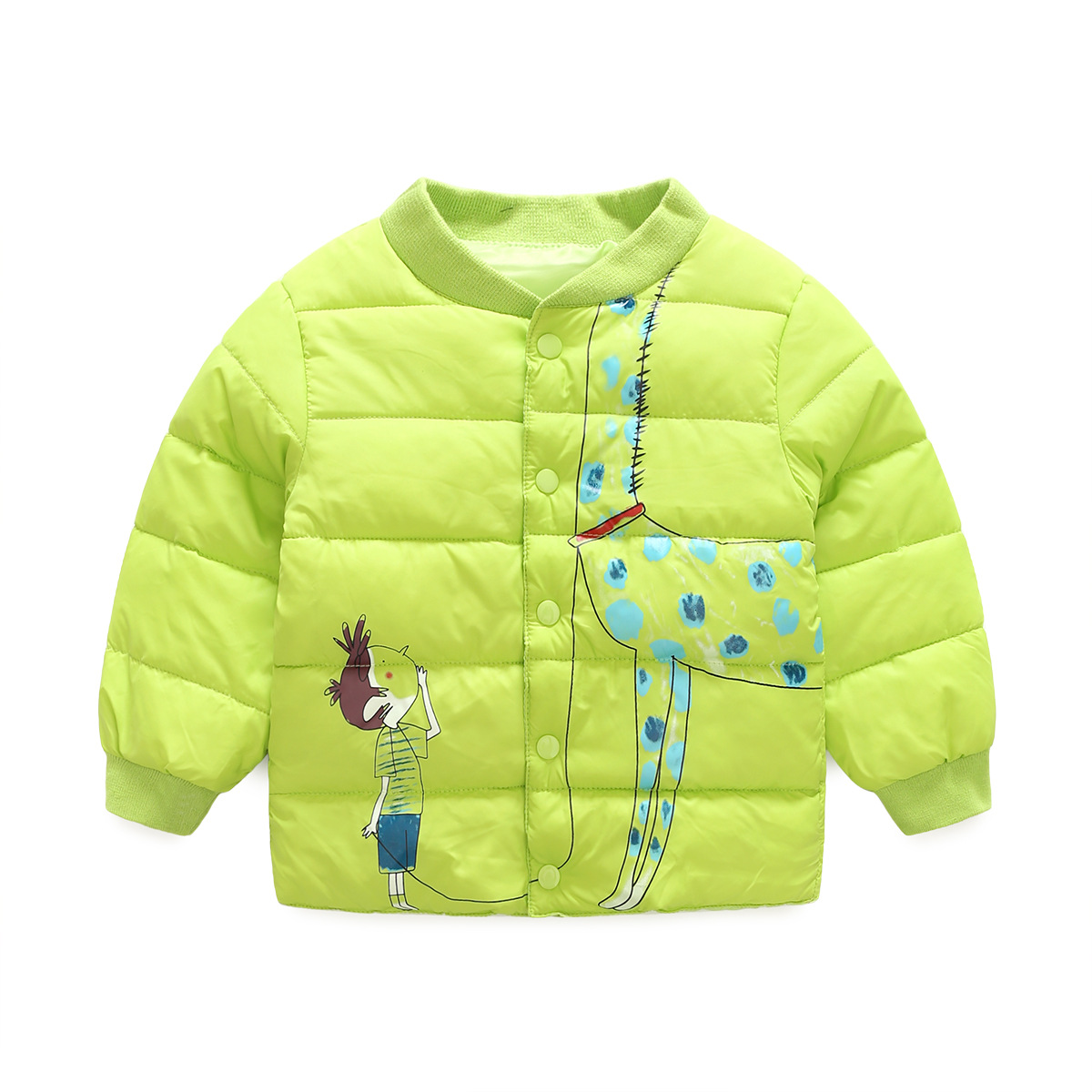Kids Outerwear&Coats Winter Coat Kids Clothes Children's Clothing Girls Winter Jackets Boys Cartoon Fashion Warm Coat