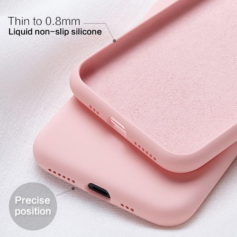 85e9d488c8b Cheap Funda de silicona suave para iPhone 6 6 s 7 8 Plus funda transparente  de