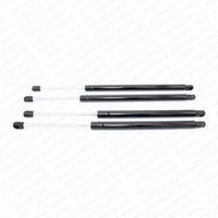 For 2007 2010 2011 GMC Yukon Rear Front Hood & Rear Liftgate Auto Lift Supports Gas Struts Props Rods Damper Spring Charged