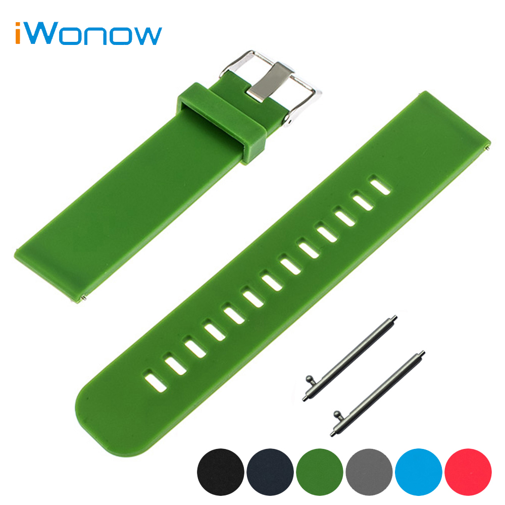 Silicone Rubber Watch Band 17mm 18mm 19mm 20mm 21mm 22m for Baume & Mercier Quick Release Watchband Strap Wrist Belt Bracelet top layer cowhide genuine leather watchband for swatch men women watch band wrist strap replacement belt bracelet 17mm 19mm 20mm