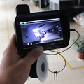 Frete grátis! Eyoyo 1000TVL Ice Underwater Video 15 M Camera pesca Fish Finder 3.5 '' Color Monitor LCD fácil instalar na haste