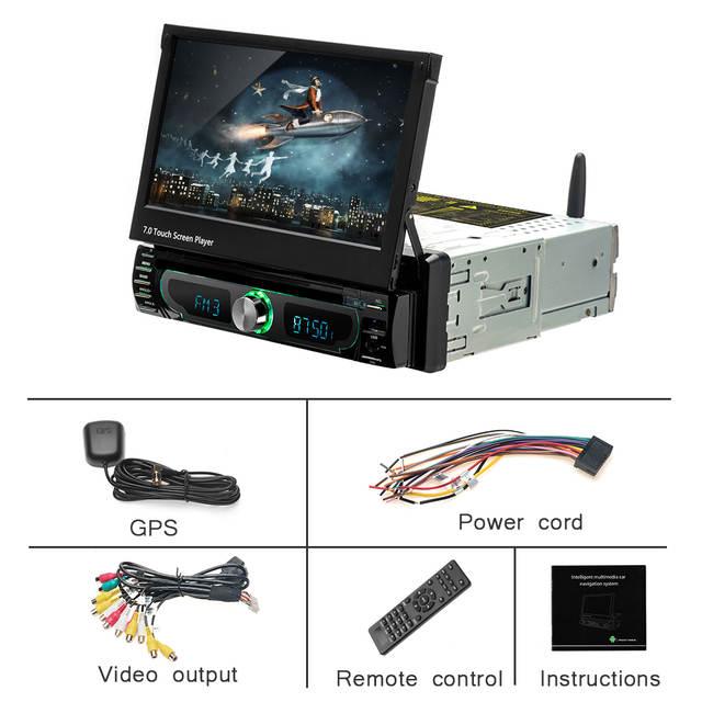 US $179 99  Podofo Autoradio Android Car Stereo Radio GPS Navigation 1 din  7