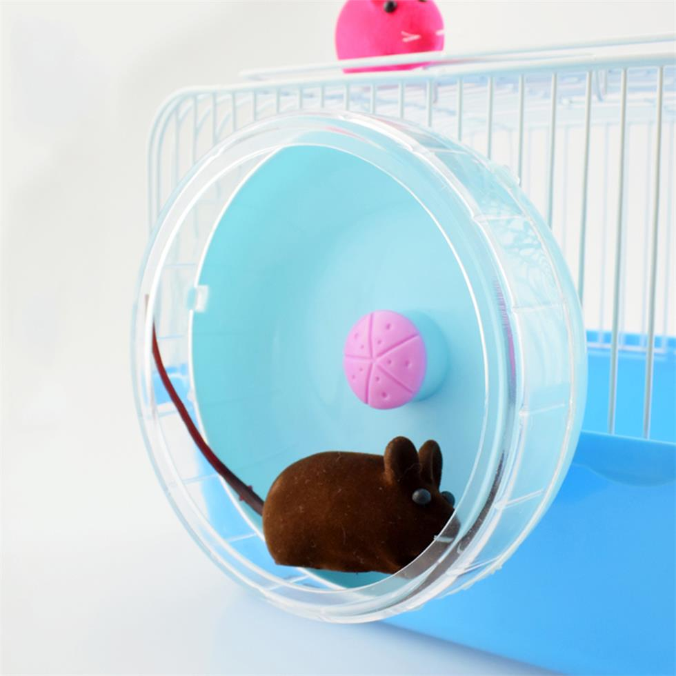 New Style Small Pet Toy Hamster Sports Running Wheel Hamster Cage Accessories Toys Small Animals Exercise Wheels Pet Products