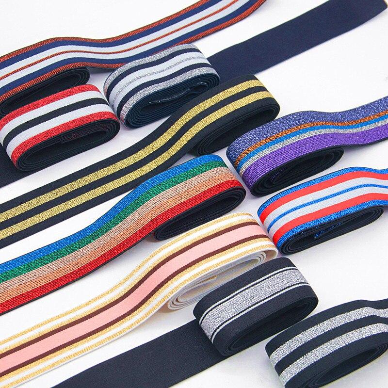 90m negro blanco el/ástico banda plana cuerda el/ástica cintur/ón de goma pantalones el/ástico banda ropa beb/é ropa accesorios
