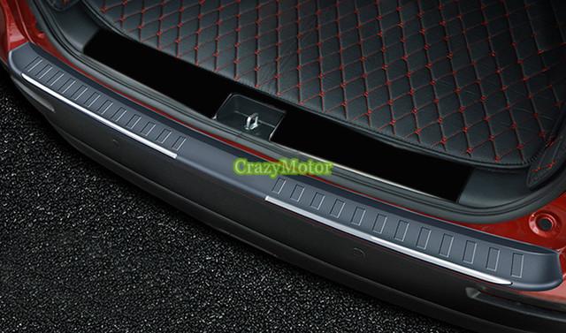 1 pcs Plástico ABS Exterior choques traseiro pé placa da tampa da guarnição Para Suzuki Vitara Escudo 2015 2016