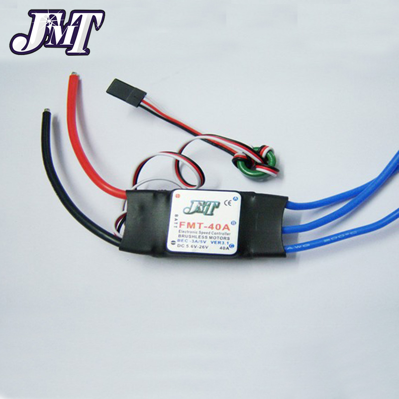 JMT 5Pcs Brushless ESC 40A Speed Controller ESC For RC RC Multi-Rotor Aircraft Quadcopter Hexacopter F01340-5 30a esc welding plug brushless electric speed control 4v 16v voltage