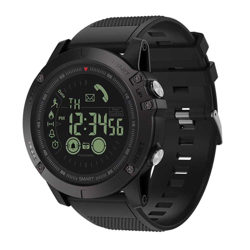 Zeblaze VIBE 3 Wasserdichte Smartwatch Schrittzähler Alle-Wetter Überwachung 33 monat Standby Remote Kamera Smart Uhr Für IOS Android