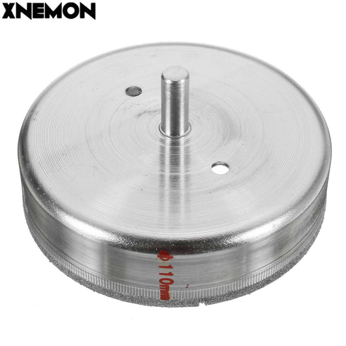 XNEMON 1PC 110mm 4 3/8'' Inch Diamond Coated Drill Bit Hole Saw Core Drills Marble Tile Suitable for Use In Drill Hole on Glass cnbtr 50mm diamond hole saw drill core bit for marble stone granit tile cutter