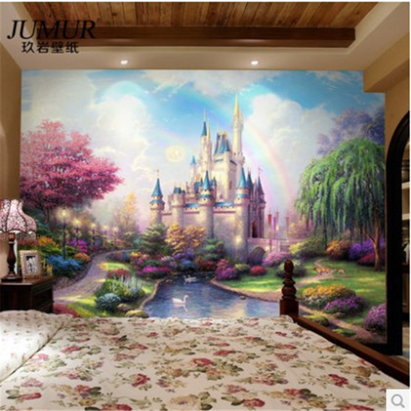 Castle Wall Mural online get cheap fantasy castle mural -aliexpress | alibaba group