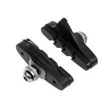 1 Pair Cycle Bike Bicycle MTB V Brake Blocks Pads Shoes Repair Accessories Climbing Tool